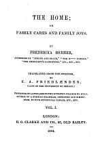 The Novels of Frederika Bremer