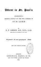 Advent in St Paul's Sermons