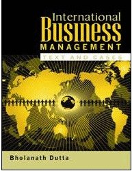 International Business Management  Text and Cases  PDF