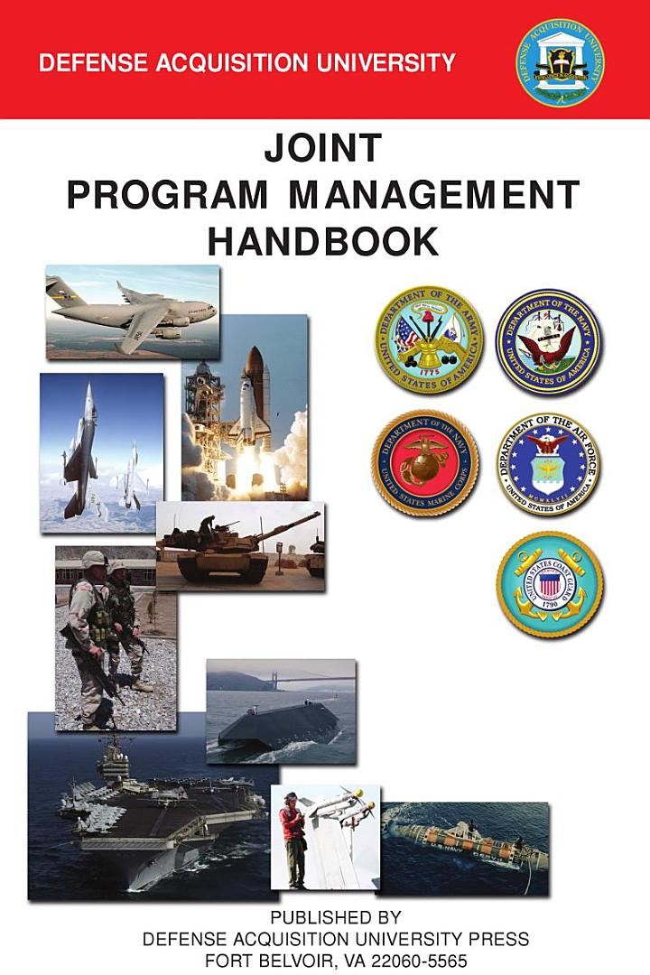 Joint program management handbook