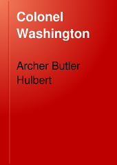 Colonel Washington: Volume 119