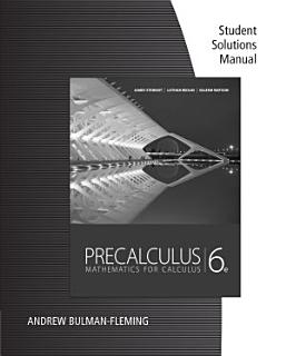 Precalculus Book