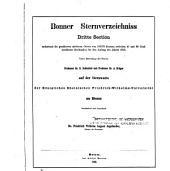 Bonner Durchmusterung: Band 3