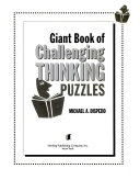 Giant Book of Challenging Thinking Puzzles