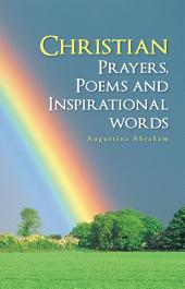 Christian Prayers, Poems and Inspirational words