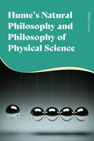 Hume s Natural Philosophy and Philosophy of Physical Science PDF