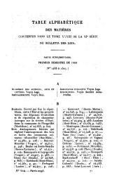 Bulletin des lois de la République Française: Volume 33