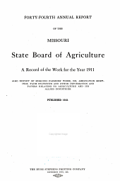 The Missouri Yearbook of Agriculture: Annual Report, Volume 44