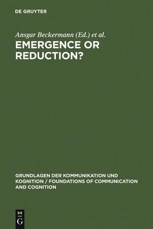 Emergence or Reduction  PDF