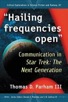 Hailing frequencies open  PDF