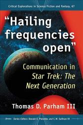 Hailing Frequencies Open  Book PDF