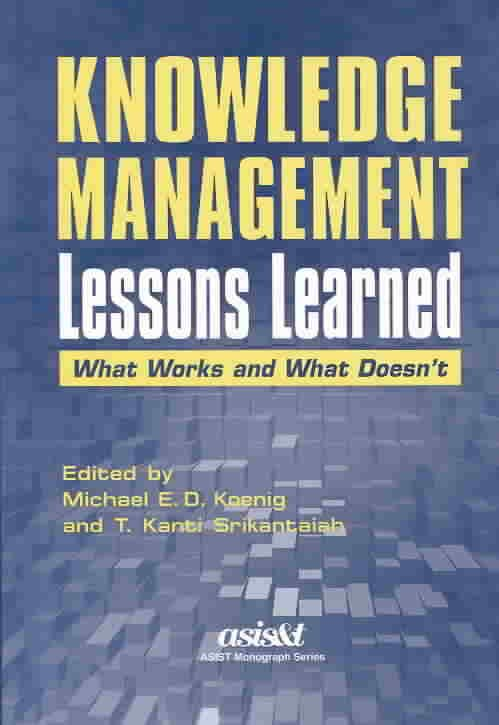 Knowledge Management Lessons Learned