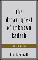 The Dream Quest of Unknown Kadath PDF