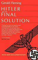 Hitler and the Final Solution PDF
