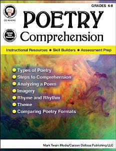 Poetry Comprehension  Grades 6   8 PDF