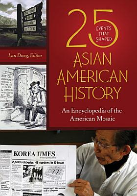 25 Events that Shaped Asian American History  An Encyclopedia of the American Mosaic