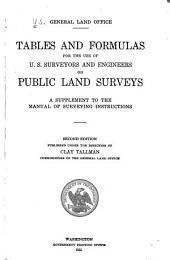 Standard Field Tables and Trigonometric Formulas