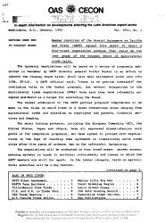 OAS CECON Trade News PDF