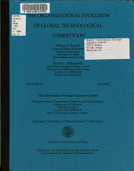 The Organizational Evolution of Global Technological Competition PDF