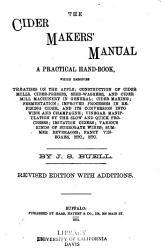 The Cider Maker S Manual Book PDF