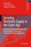 Securing Electricity Supply in the Cyber Age PDF