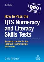 How to Pass the QTS Numeracy and Literacy Skills Tests PDF