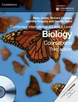 Cambridge International AS and A Level Biology Coursebook with CD ROM PDF
