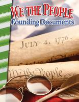 We the People  Founding Documents PDF