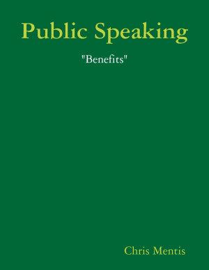 Public Speaking   Benefits