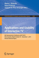 Applications and Usability of Interactive TV