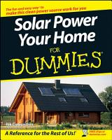 Solar Power Your Home For Dummies PDF