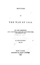 Notices of the War of 1812: Volume 2