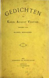 Gedichten van Karel-August Vervier