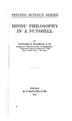 Hindu Philosophy in a Nutshell
