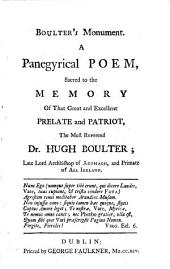 Boulter's monument, a panegyrical poem [by S. Madden].
