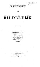 Aanwijzing der oude en nieuwere dichters door mr. W. Bilderdijk en vrouwe K.W. Bilderdijk overgebragt of nagevolgd, met aanteekeningen: Volume 7