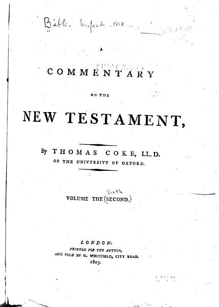 Download A Commentary on the Holy Bible  Commentary on the New Testament Book