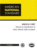 Manual on Classification of Motor Vehicle Traffic Accidents PDF