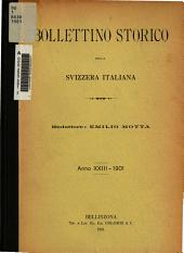 Bollettino storico della svizzera italiana