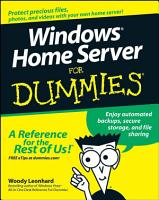 Windows Home Server For Dummies PDF