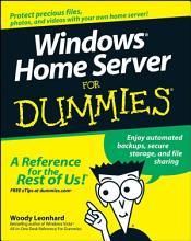 Windows Home Server For Dummies PDF