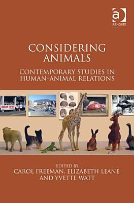 Considering Animals