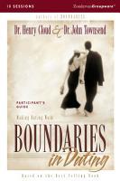 Boundaries in Dating PDF