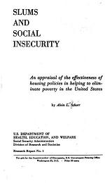 Slums and Social Insecurity