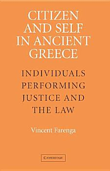 Citizen and Self in Ancient Greece PDF
