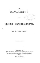 A Catalogue of the British Tenthredinidae