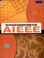 The Pearson Complete Guide To The Aieee  4 E PDF