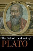 The Oxford Handbook of Plato PDF