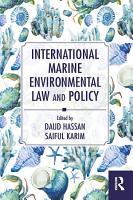 International Marine Environmental Law and Policy PDF