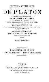 Oeuvres complètes: Volume10